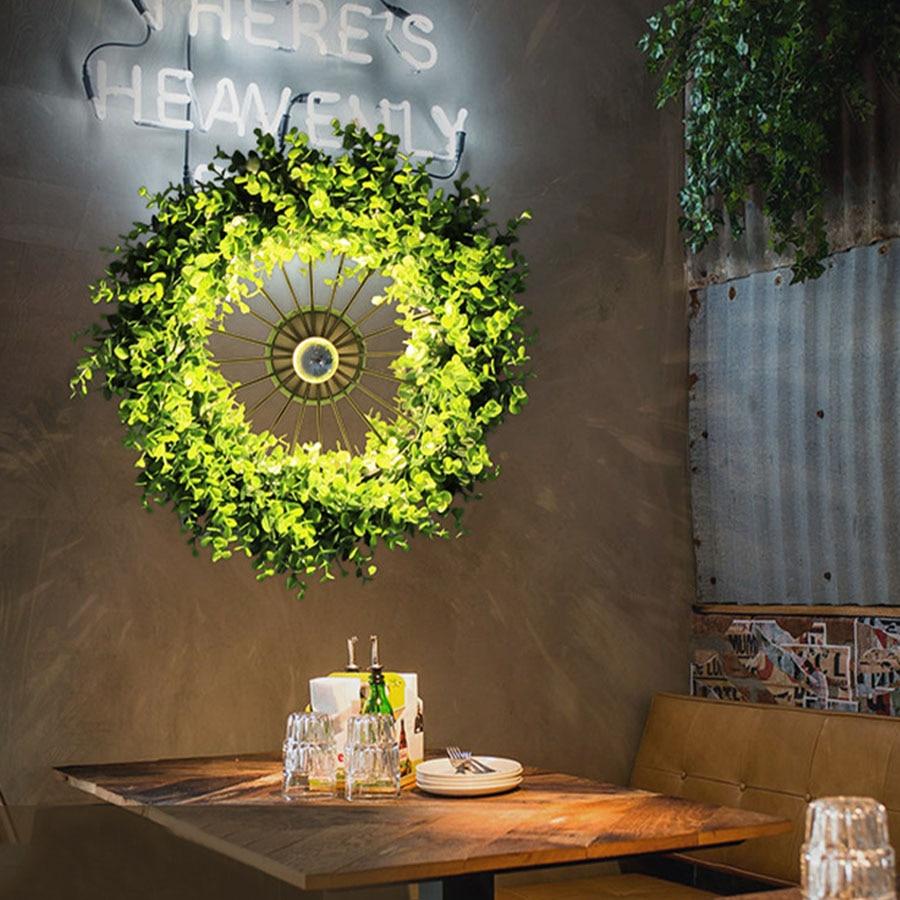 Thrisdar Kreative Persönlichkeit Anlage LED Wand Lampe Retro Industrie Restaurant Musik Bar cafe Gang Korridor Rad FÜHRTE Wand Licht-in Wandleuchten aus Licht & Beleuchtung bei