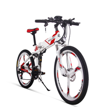 RichBit New 36V*250W Electric Bike Mountain Hybrid Electric Bicycle Cycling Watertight Frame Inside Li-on Battery Folding ebike