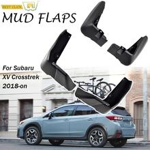OE stylizowany zestaw formowane błotniki samochodowe dla Subaru XV 2018 Crosstrek błotniki błotniki błotniki błotniki 2017 2019 tanie tanio XUKEY CN (pochodzenie) Iso9001 High Grade ABS Plastic Molded Splash Guards 0 8kg lower body protection none