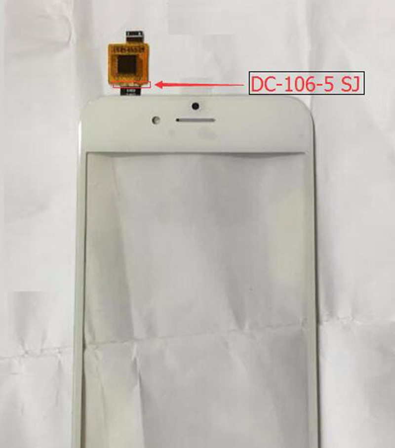 Black-white-China-Andriod-Smartphone-Touch-Screen-For-iPhone-6-Glass-Digitizer-with-Code-DC-106