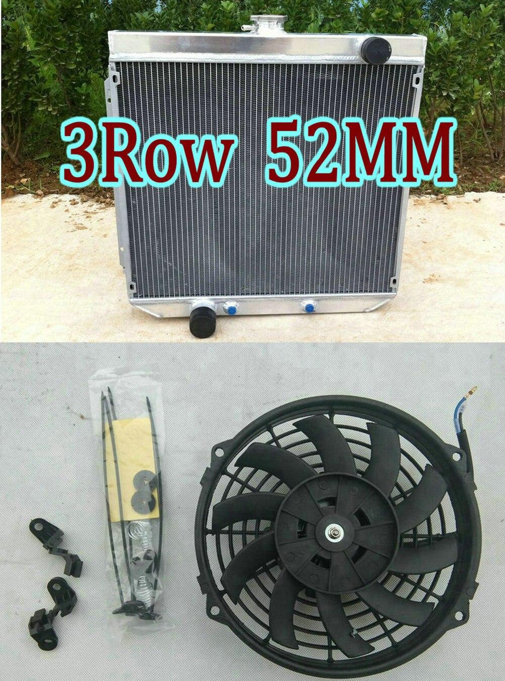 Fairlane// Falcon// Ranchero V8 3 Row Radiator+Shroud Fan fit 67-70 Ford Mustang