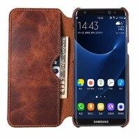 Jiban Genuine Leather Case For Samsung Galaxy S8 SM-G9500 Etui Z Klapką 360 Portfel Pokrywa Dla Samsung Galaxy S8 S8 Plus S8 + Coque