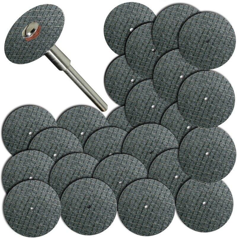 "50pcs Fiberglass Reinforced Cut Off Wheel Disc w// 3 Mandrel 1//8/"" Fit Rotary Tool"