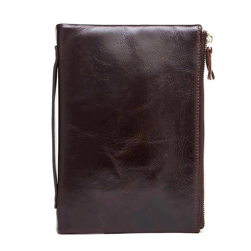 Luxury genuine leather men wallets large capacity cowhide men clutch phone bag purse zipper vintage long wallet casual hand bags genuine leather men business wallets coin purse phone clutch long organizer male wallet multifunction large capacity money bag