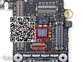 2 unids/lote original u9 lpc18a1 ic en la placa lógica para el iphone 5s m7 co-procesador lpc18a1ur chip ic