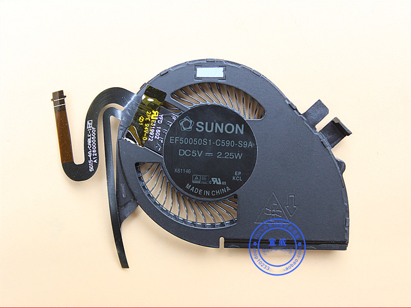 New CPU Cooler Fan For Lenovo ThinkPad X240 X240S X250 X240I X260 X260S X270 X270S 00UP171 00UP172 EF50050S1-C590-S9A 5V 2.25W