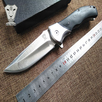 Good Quality Utility Survival Folding Knife 9cr18mov Balde G10 Handle Outdoor Camping Hunting Knife Tactical Knife