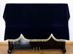 1 PC nowy zagęszczony Pleuche fortepian pokrywa pyłoszczelna fortepian pokrywa warstwa nadaje się 118-131 klawiatura pianina pokrywa