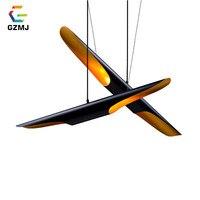 GZMJ Modern Metal LED Pendant Lights Dia60/80/100cm Bamboo Tube Hanging Lamp 90 260V E27 Bulb Loft Bedroom Dining Room Hanglamp