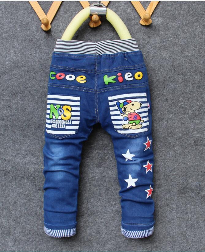 176147048c451b Dżinsy dla dzieci 2019 wiosna dzieci modne spodnie dżinsowe Baby Boy  spodnie jesień stopy dzieci wzór druku spodnie jeansowe spodnie 2 6Y w  Dżinsy dla ...