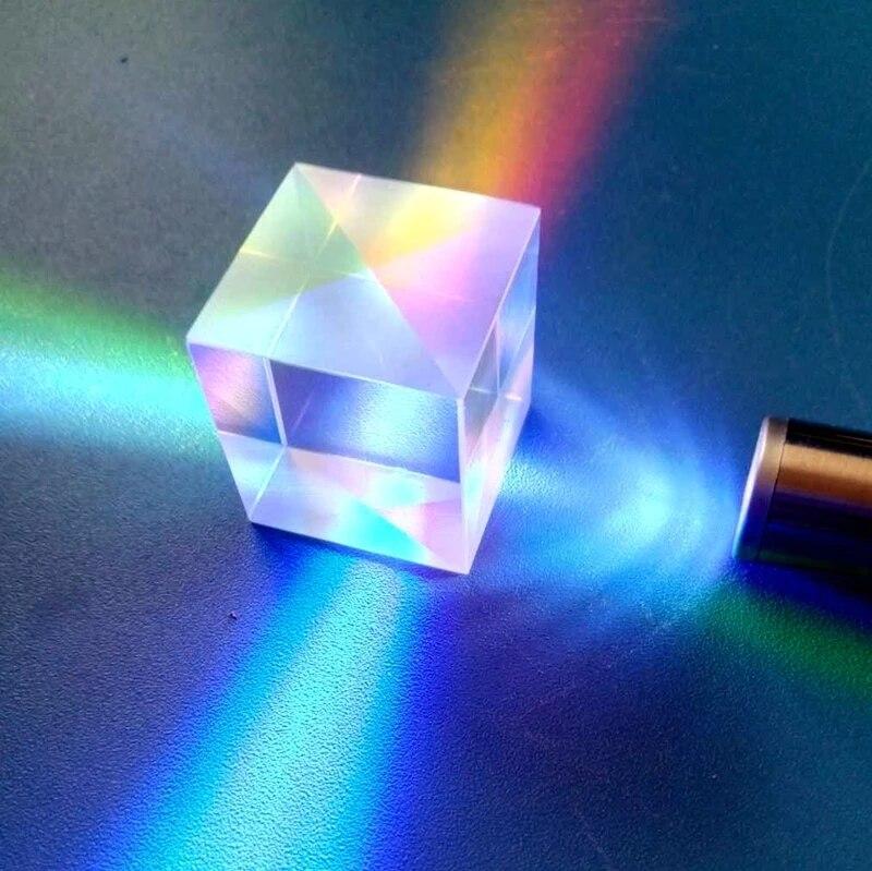 Prism Lente Para Experimentos de Física e o projetor