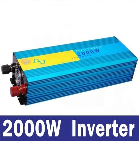 DC 12 V to AC 230 V Pure Sine Wave Inverter 2000w peak 4000w~ HIGH QUALITY A+++ мультиметр uyigao ac dc ua18