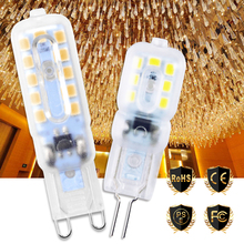 G9 Led Lamp 220V Led Corn Bulb Dimmable Light Bulb g9 Led 5W Spotlight For Chandelier Replace Halogen Lamp Candle Light 240V стоимость