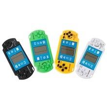 1 pieza de juego electrónico clásico LCD Tetris, dispositivo de juego portátil, ladrillo Vintage, juegos de Arcade de mano, rompecabezas