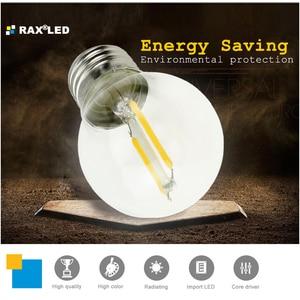 Image 5 - Regulable C35/C35L E14 220V LED filamento vela bombilla 4W 8W 12W Retro antiguo Edison LED E14 vela luces para araña