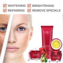 Отбеливающий крем для кожи, белая красота, темные пятна, удаление пятен, веснушки, макияж, базовый набор, крем, ABC, бесплатное отбеливание