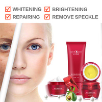 whitening skin whitening cream white beauty dark spots face removing speckle freckle makeup essential brand set ABC cream free
