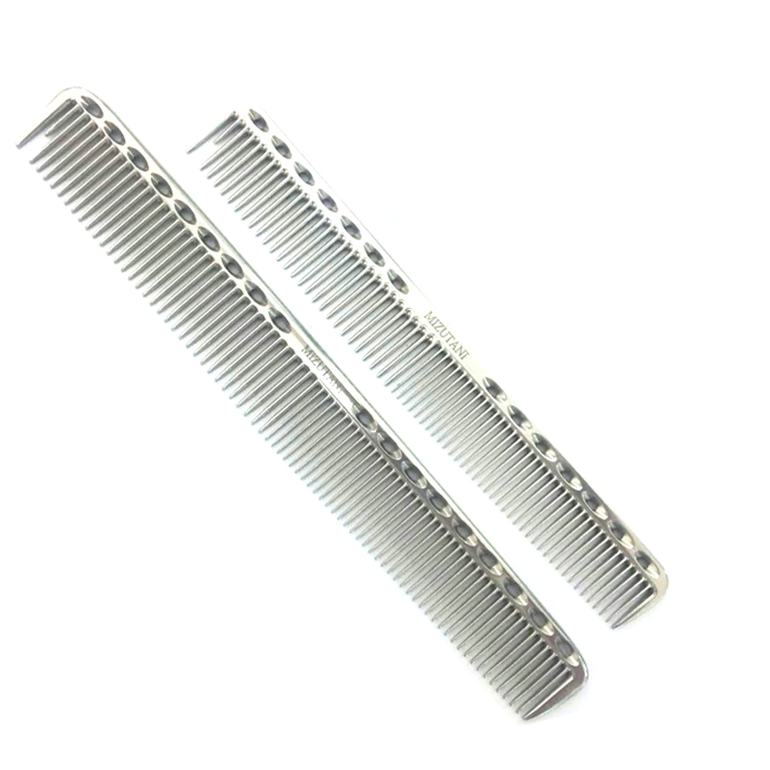 Hot Hairdressing Tools Professional Barber Cutting Comb Titanium Haircut Comb Y-339 In Long And Short Design 3 Favorite Color