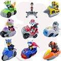 New Original Paw Patrol Action Figure Toys Model Toy Skye Everest Rocky Zuma Chase Marshall Rubble Vehicle Car Kids Gift