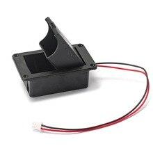 1PC 9V סוללה בעל מקרה תיבת כיסוי עבור גיטרה בס פעיל איסוף מחבר