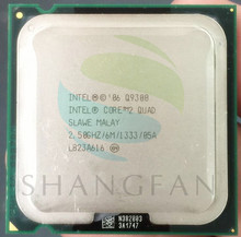 shipping For Intel CPU Core2  Quad Q9300 Processor 2.5 GHz 6MB 1333MHz SLAWE Intel LGA 775 CPU