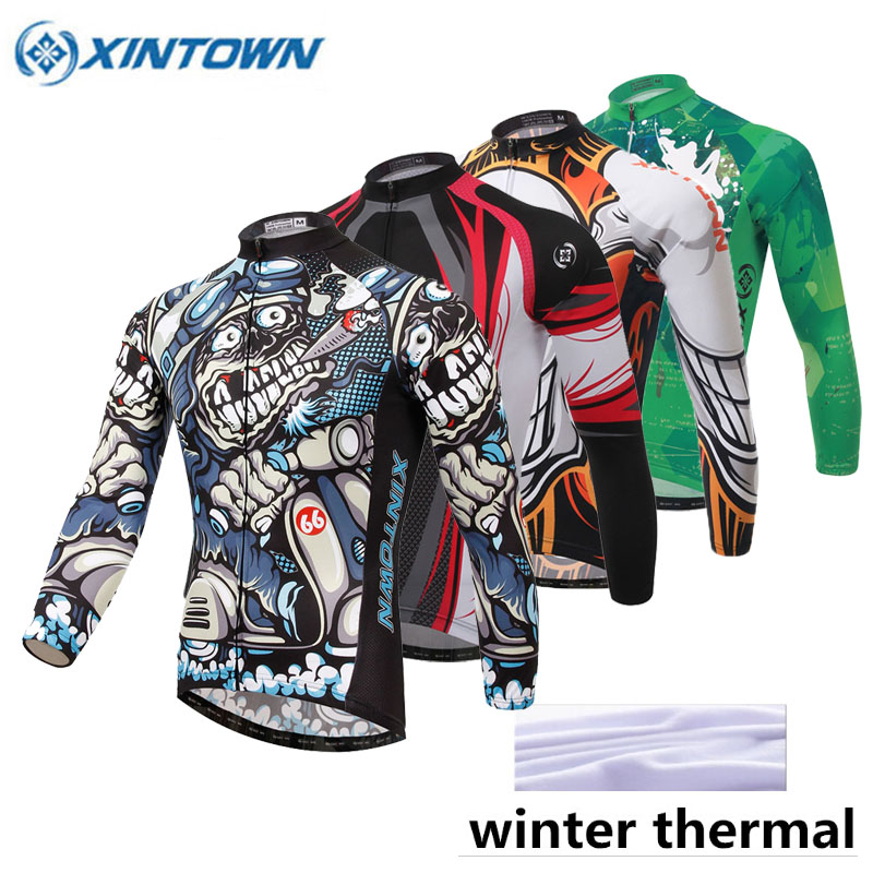 2018 Winter Cycling Jersey Long Sleeve Bicycle Thermal Fleece Ropa Roupa De Ciclismo Invierno Windproof Mtb Bike Clothing 2017 cheji winter fleece windproof cycling jersey set ropa ciclismo team mensthermal bike bicycle long sleeve clothing s xxxl