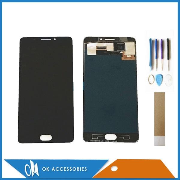 5.5 Pour Vernee Thor Plus Ecran LCD + Écran Tactile Digitizer Noir Couleur Avec Outils Bande