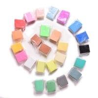 Sun & bulut 24 renkler diy dövülebilir fimo polimer modelleme yumuşak kil blokları plastisin sanat
