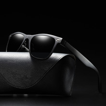 Aluminum Magnesium Male Sunglasses Uv400 Man's Eyeglasses Polarized Shades For Women Vintage High Quality Fashion Retro Driving