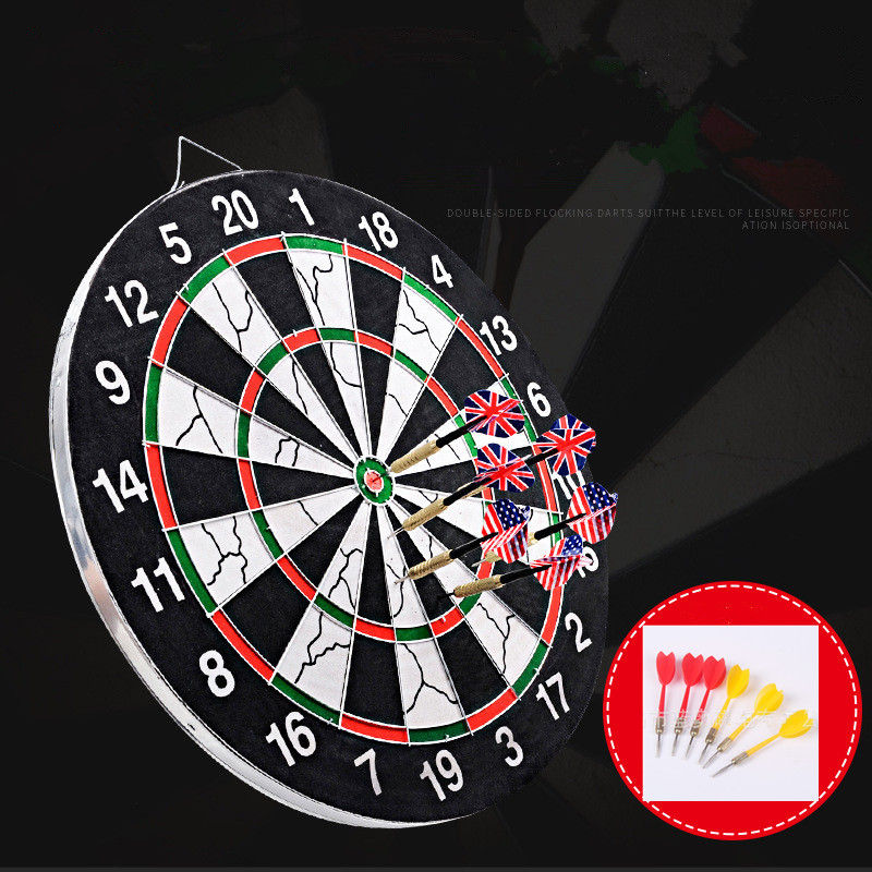Dart Board Thickening Flocking Double-sided Darts Target Dart Professional Dart Accessories Indoor Sports