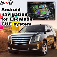 Android GPS navigation box for Cadillac Escalade etc Intellink Mylink CUE system video interface with cast