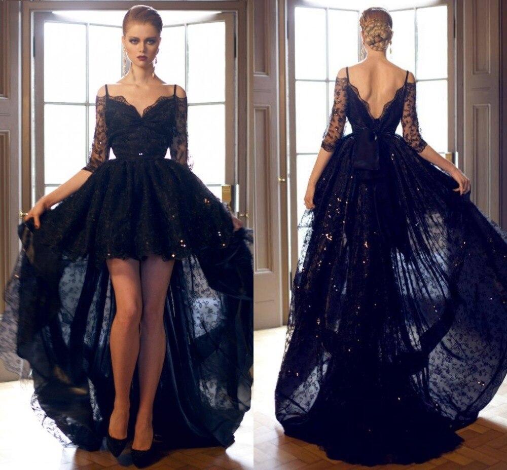 Popular Prom Elegant Black Dress-Buy Cheap Prom Elegant Black ...