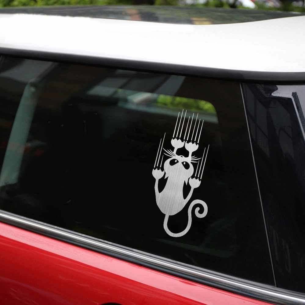 Admirable Rylybons Naughty Cat Car Sticker Car Motorcycle Accessories 15 7 5Cm Vinyl Body Window Car Decor Anime Car Sticker Funny Animal Evergreenethics Interior Chair Design Evergreenethicsorg