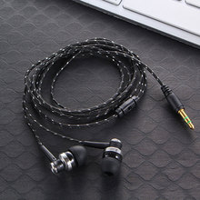 Handfree Stereo Bass Earphone Wired Earbuds headset In Ear Earbus Earpiece 3.5mm