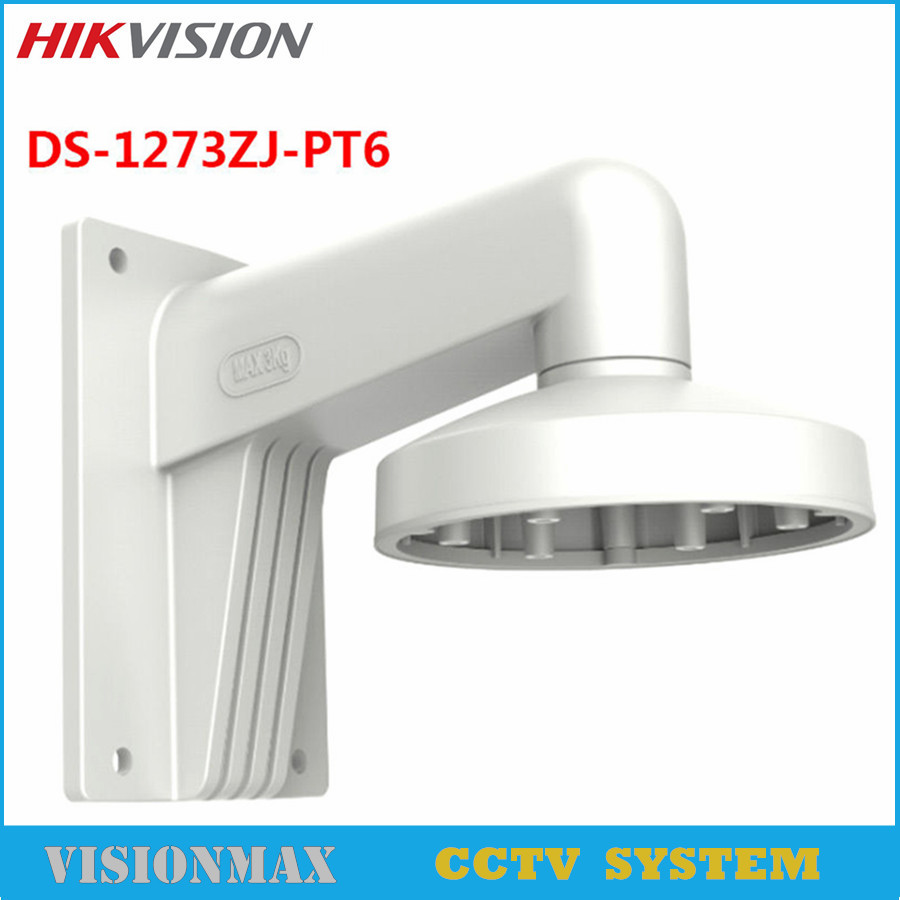 где купить Hikvision Wall Mount bracket DS-1273ZJ-PT6 housing CCTV Accessories for mini PTZ IP CCTV camera DS-2DE3304W-DE по лучшей цене