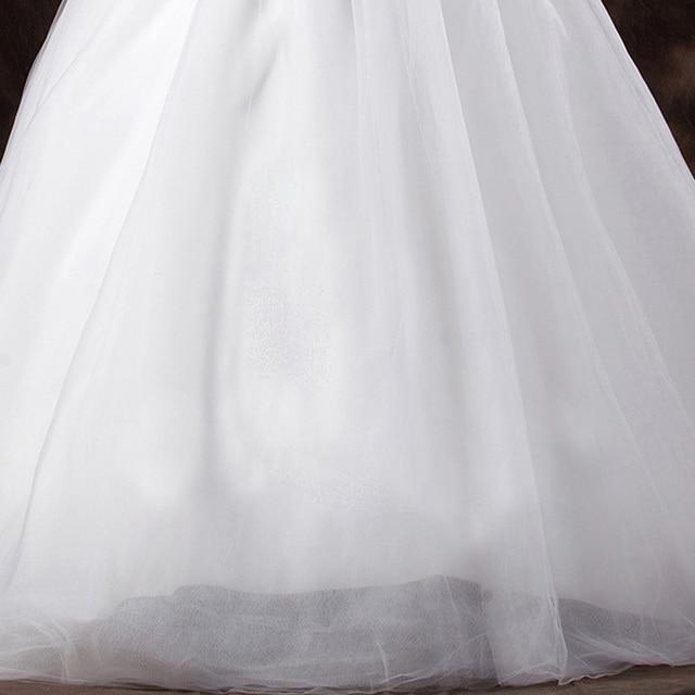 LAMYA Court Train Wedding Dress 2021 Cheap Celebrity Strapless Vintage Tulle Bridal Ball Gown Organza Lace bridal dresses 6