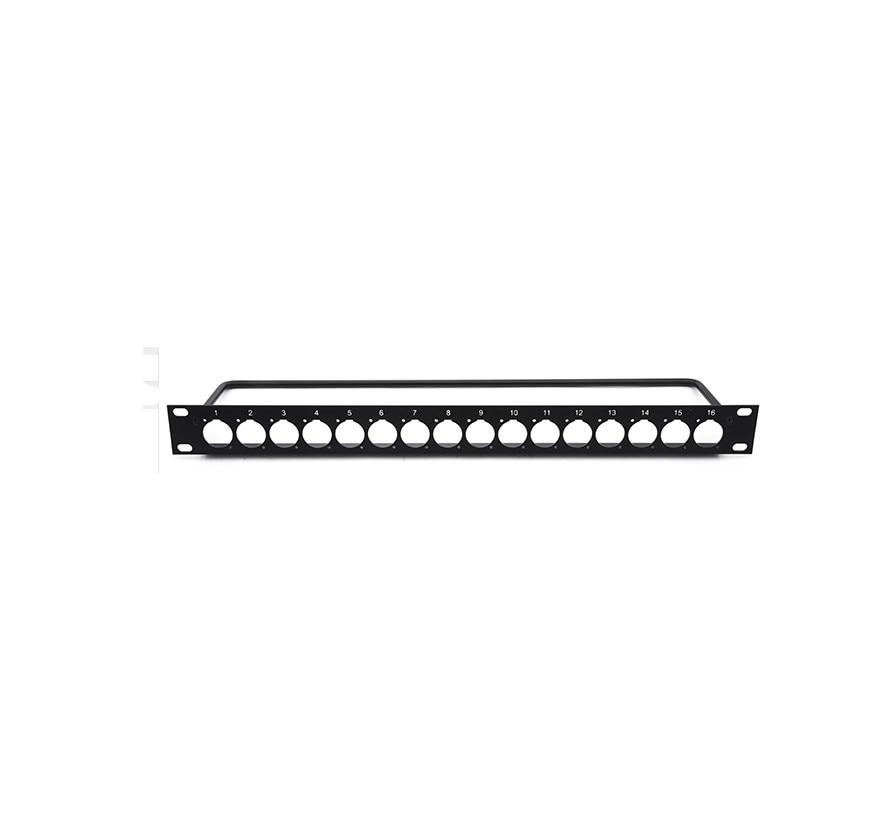 все цены на High quality 3pcs/lot patch panel with binding wire stents for 1U/16 19 онлайн