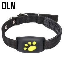 OLN Waterproof Pets GSM GPS Pet Tracker Locator constantly Tracking Finder For Dog Cat Real Time Free APP Track Alarm Device