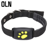 OLN Waterproof Pets GSM GPS Pet Tracker Locator constantly Tracking Finder For Pet Dog Cat Real Time Free APP Track Alarm Device