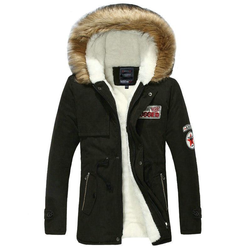 2018 Hot Selling Autumn Winter Long Parka Men Casual Slim Fit Hood Winter Jackets Mens Lovers Coat