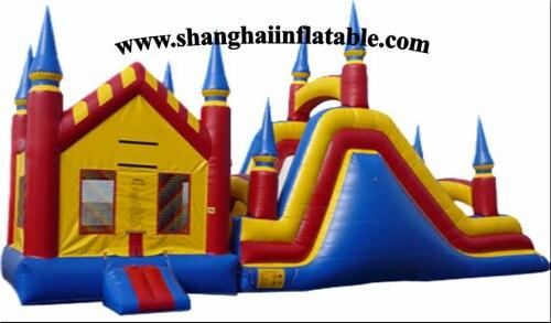 grande trampoln al aire libre inflables con tobogn tobogn de plstico para nioschina