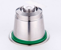 Nespresso Capsules Refillable Stainless Steel Refilling Reusable Coffee capsulas compatible nespresso capsule