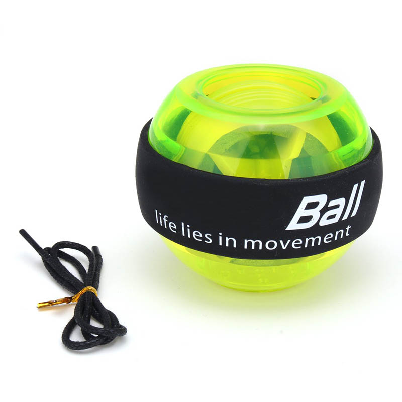 Gyroscope Powerball LED Gyro Power Wrists Ball Arm Exercise Force Strength Training Energyball Home Gym Sports Fitness Equipment (10)