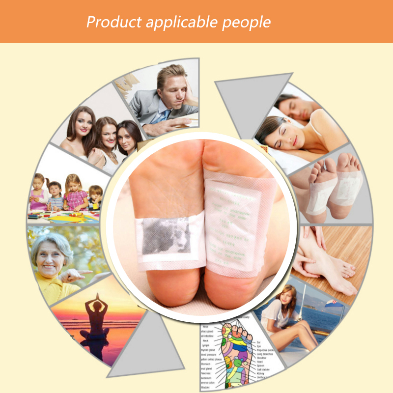 Detox Foot Pads 10pcs 8