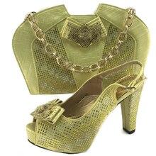 Italienische Schuhe und Taschen Zu Entsprechen Schuhe mit Tasche Set  Afrikanische passenden Schuhe und Taschen Italian In Frauen. 6276a951c2