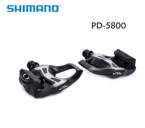 PD 5800 SHIMANO SPD SL Pedals Floating Cleats 105 With Carbon Studs Road bike 5800 pedal shimano pd m520 mtb mountain bike clipless pedals with spd cleats sm pd22 black