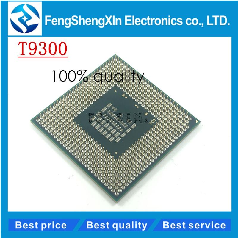 Core 2 Duo T9300 2 5 GHz 6M 800MHz Processor Socket P SLAYY SLAQG CPU GL40