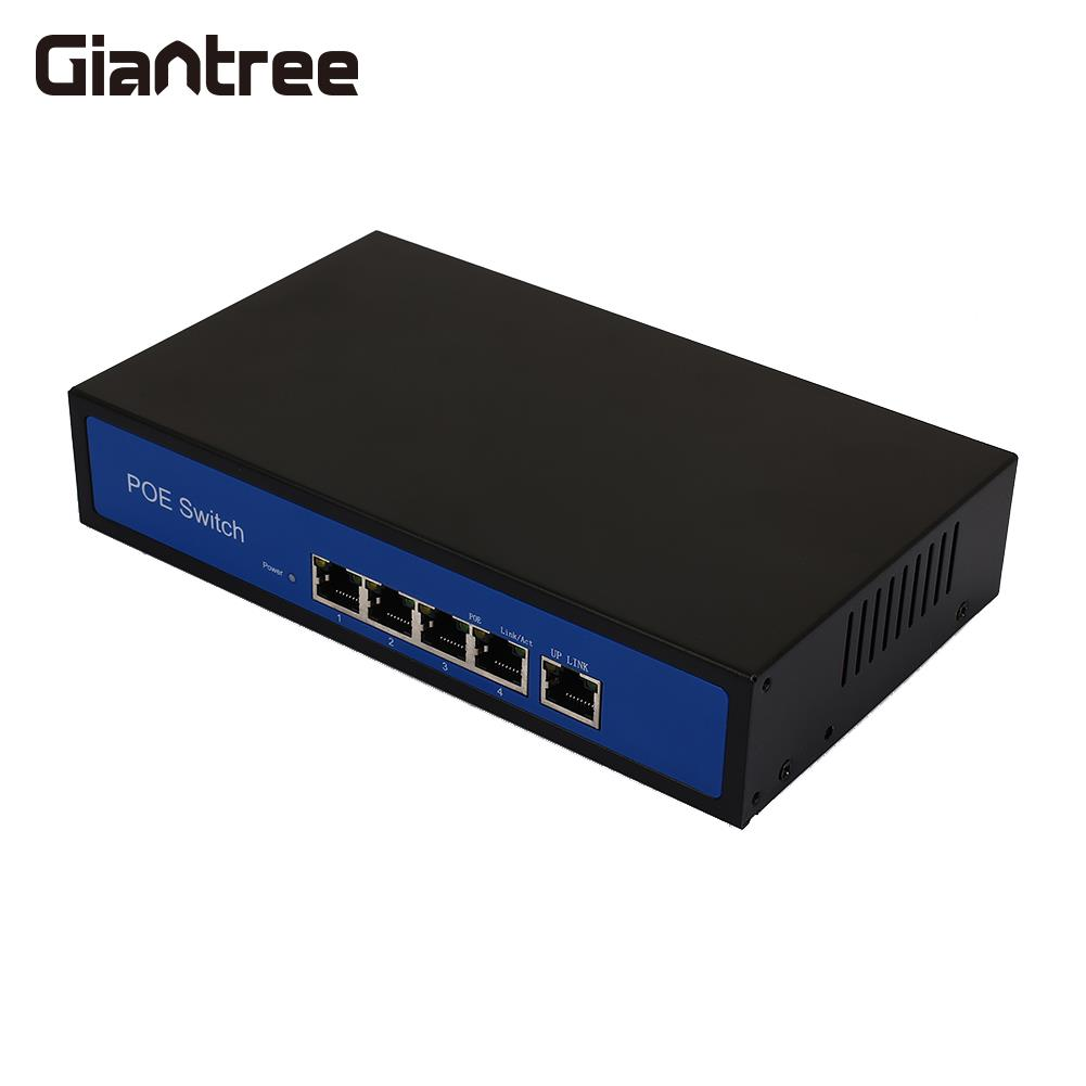 10/100Mbps POE Ethernet Switch Premium Power Over Ethernet Poe Network Switches AP Devices 250 Meter POE Switch cctv 4 port 10 100m poe net switch hub power over ethernet poe