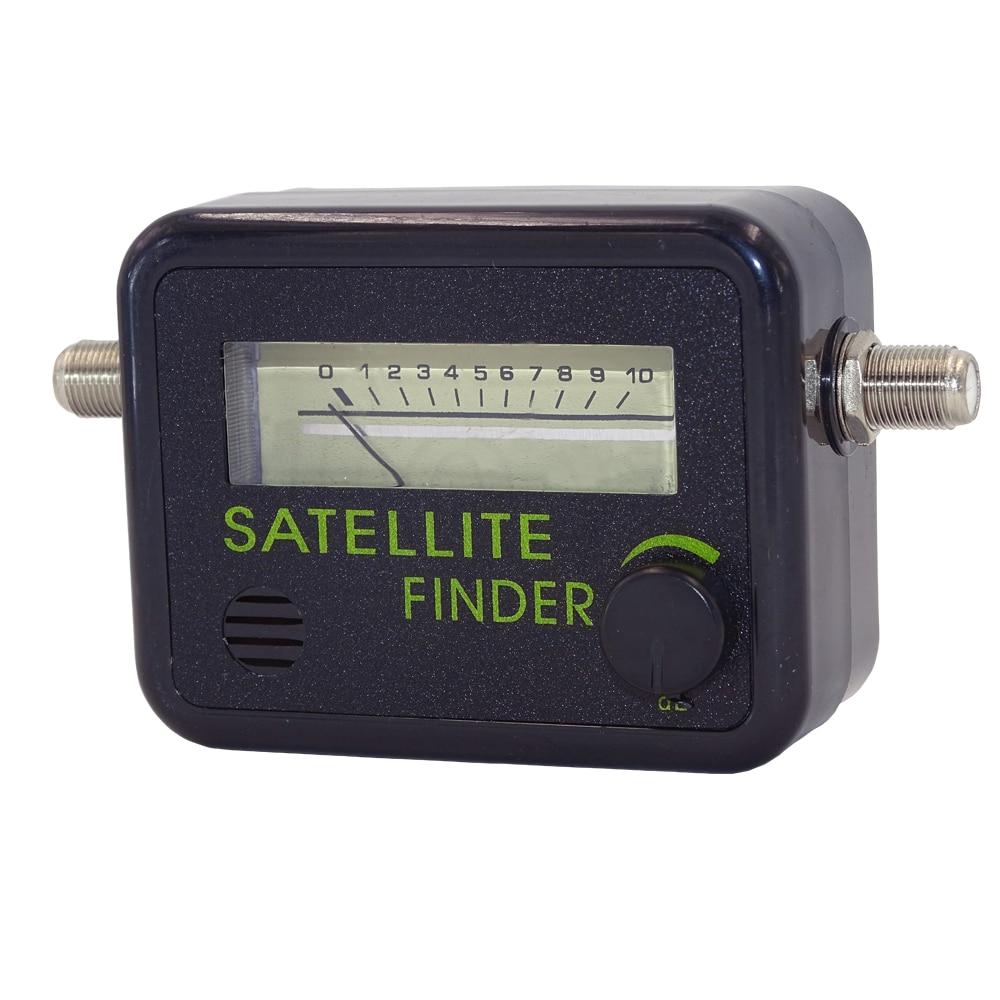 newest digital satellite finder meter fta lnb directv signal pointer satv satellite tv receiver. Black Bedroom Furniture Sets. Home Design Ideas