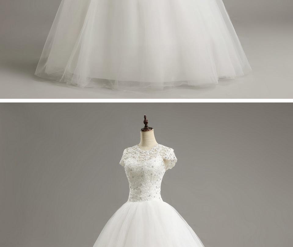 13 LAMYA Custom Size Romantic Lace Wedding Dress 2018 Fashionable Short Bride Gowns Cheap Bridal Dresses vestidos de novia